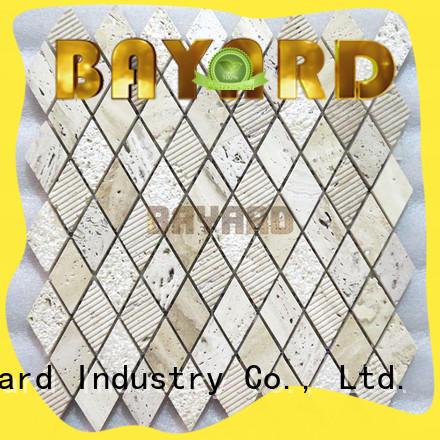 stone mosaic floor tiles travertine for hotel lobby Bayard