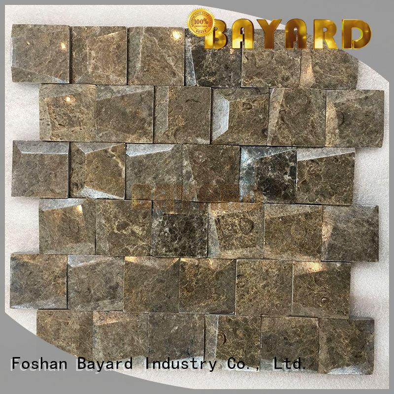 Spanish marble stone mosaic tiles brown mosaic tile stone wall mosaic stone mosaic bathroom tiles
