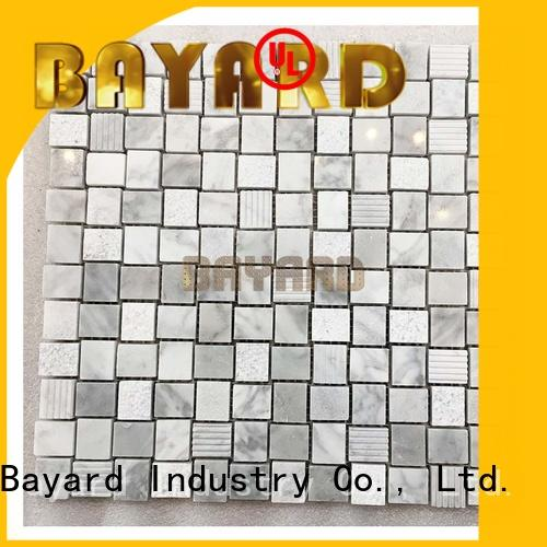 Bayard new arrival square mosaic tiles in china for hotel