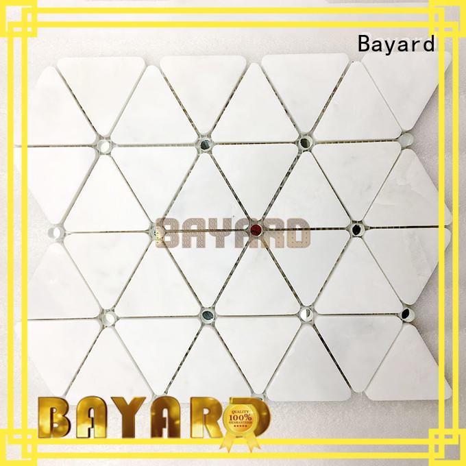 Bayard mix black and grey mosaic tiles overseas market for hotel lobby