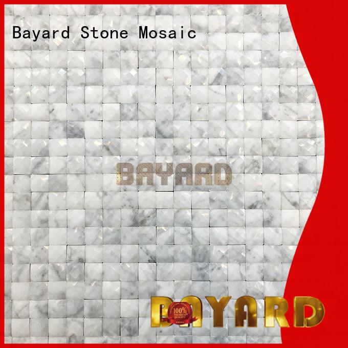Bayard low cost green mosaic bathroom tiles overseas market for hotel lobby