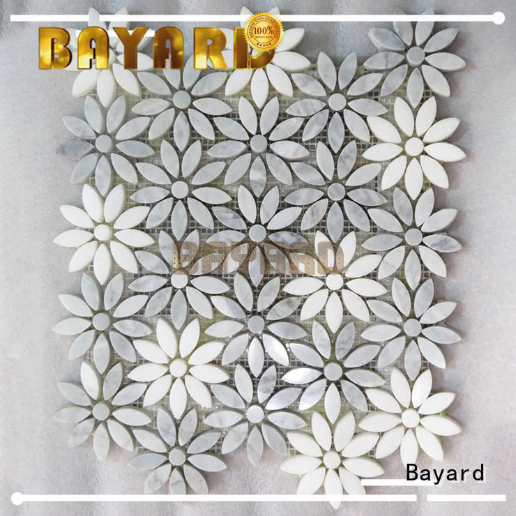 Bayard high-end mosaic tile supplies mix for wall decoration
