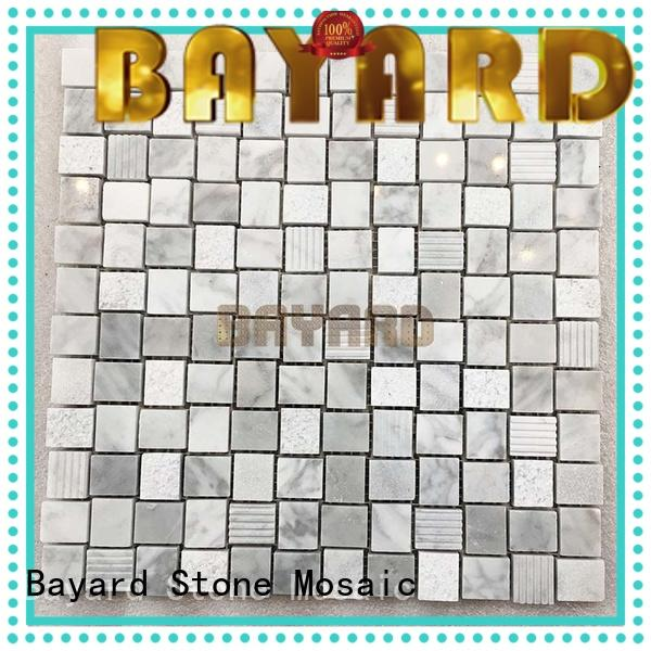 hot-sale mosaic tile kitchen backsplash marble for hotel