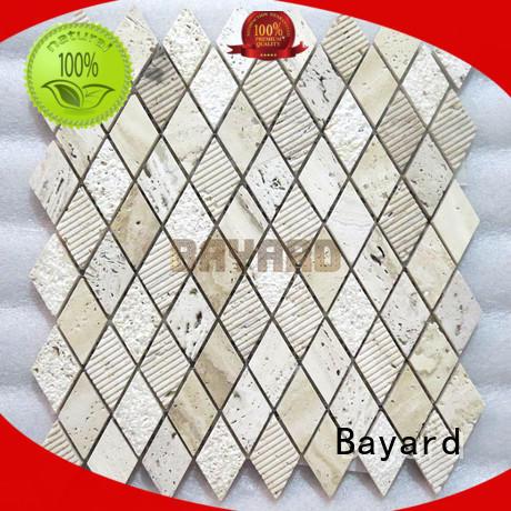 Bayard popular mixed mosaic tiles supplier for hotel lobby