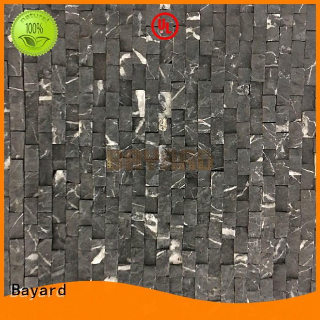 fashion design marble and glass mosaic tile patterned factory price
