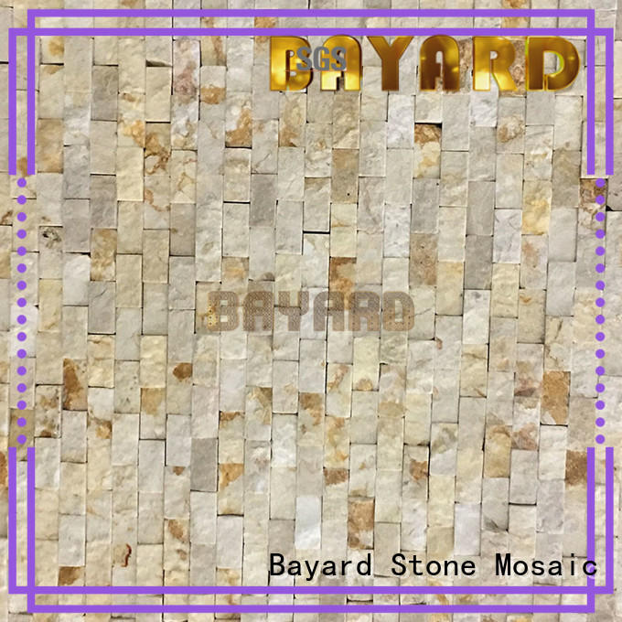 Bayard ceramic patterned mosaic tiles overseas market for wall decoration