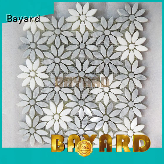 Bayard widely used mosaic tiles craft for wholesale for hotel lobby