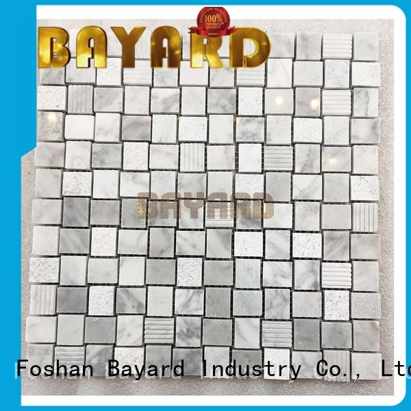 blue stone mosaic tile spanish for supermarket Bayard