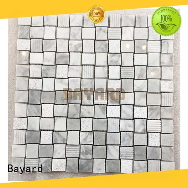 Bayard sheets marble mosaic tile dropshipping for hotel