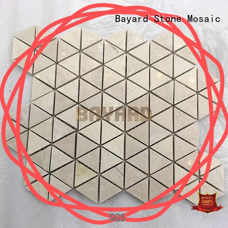 Bayard elegant mosaic backsplash for swimming pool