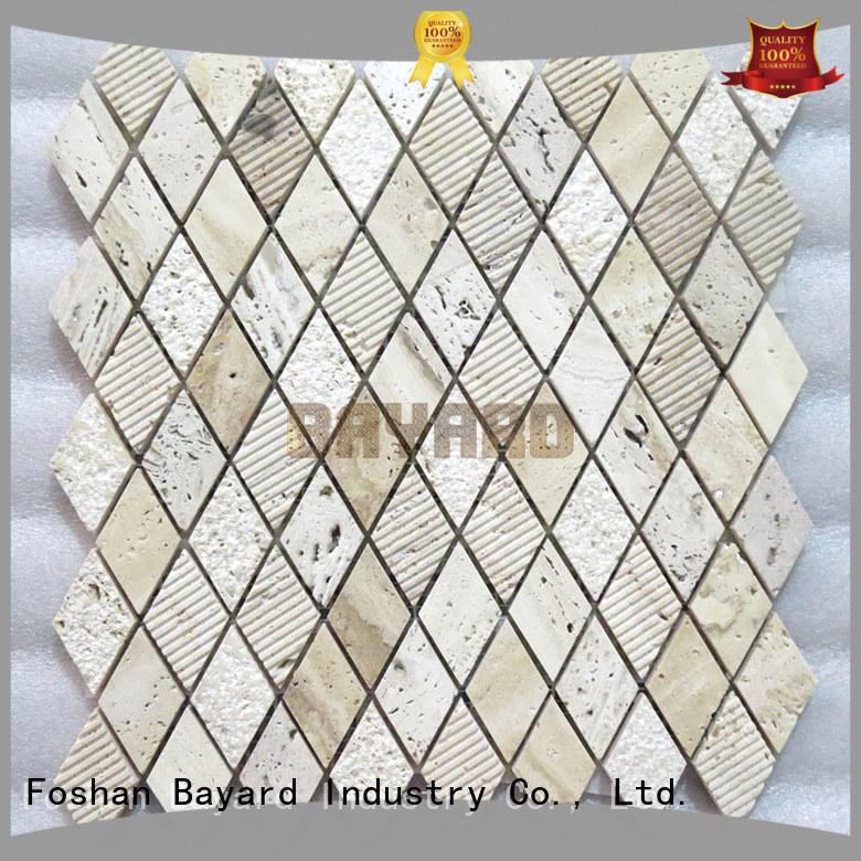 Bayard durable glass mosaic floor tile for foundation
