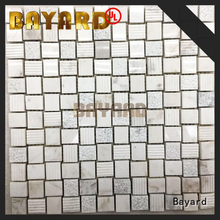 tiles marble natural stone mosaic wall tile marketing for hotel lobby Bayard