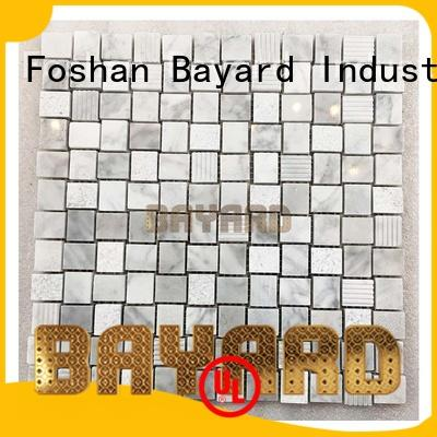 Bayard marble mosaic bathroom tiles grab now for supermarket