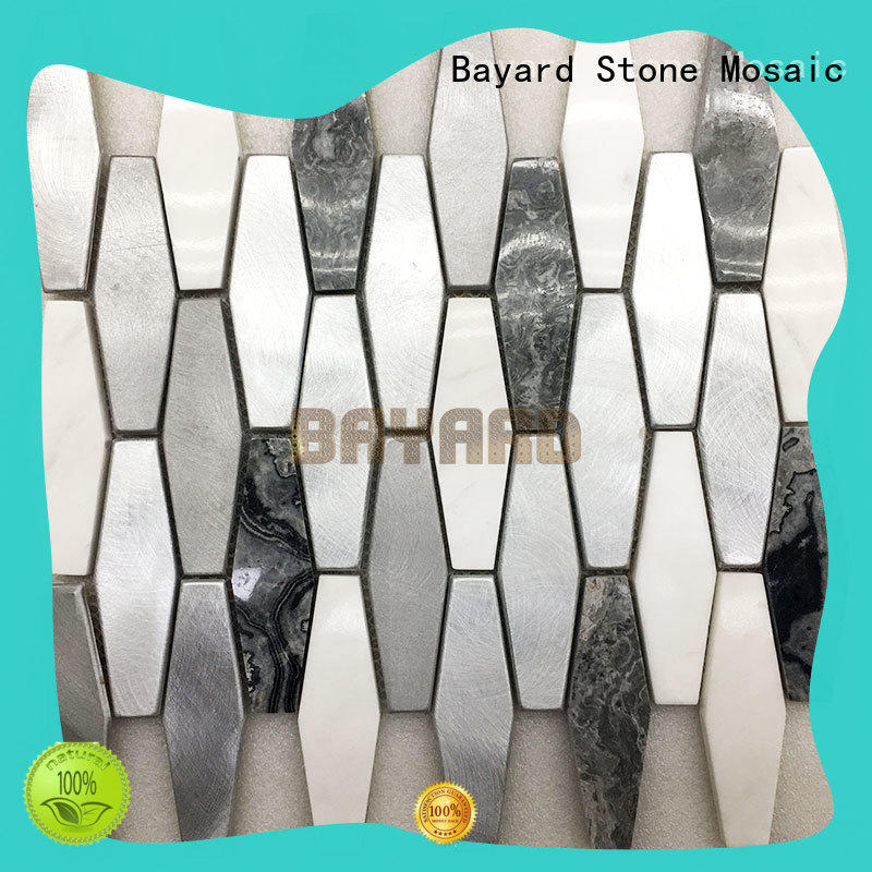 Bayard professional colorful mosaic tile for hotel lobby