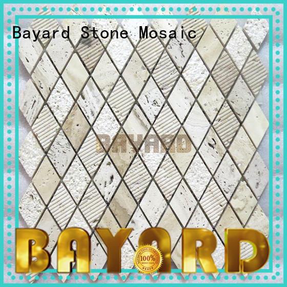Bayard wall stone mosaic floor tiles factory price for bathroom