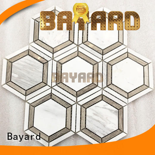 Bayard simple design glass mosaic wall tiles owner for wall decoration