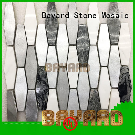 fashion design metal mosaic tiles tiles supplier for foundation