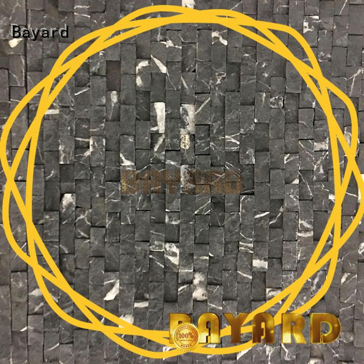 Bayard patterns grey mosaic wall tiles