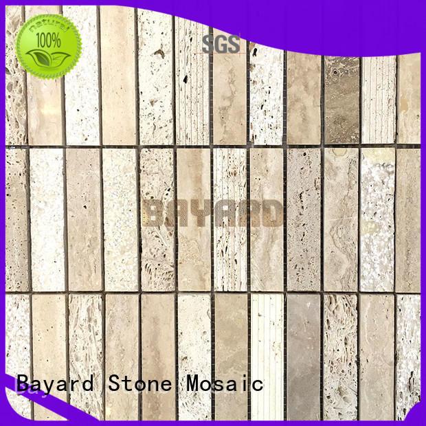 wall grey marble mosaic tiles for bathroom