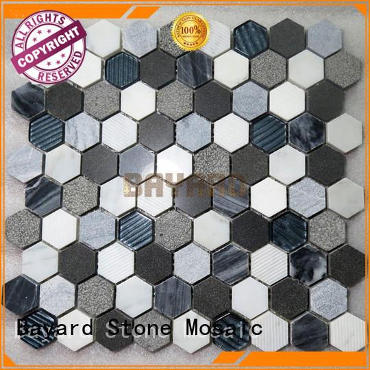 elegant mosaic backsplash line vendor for TV wall