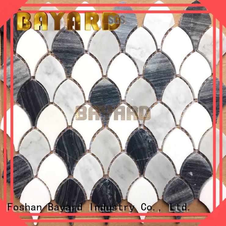 Bayard high quality gray mosaic tile in china
