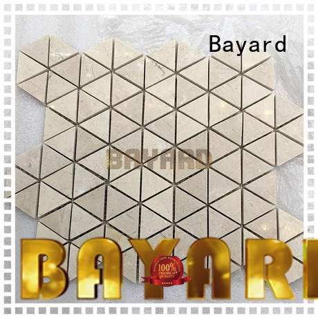Bayard dark mosaic bathroom floor tile in china for supermarket