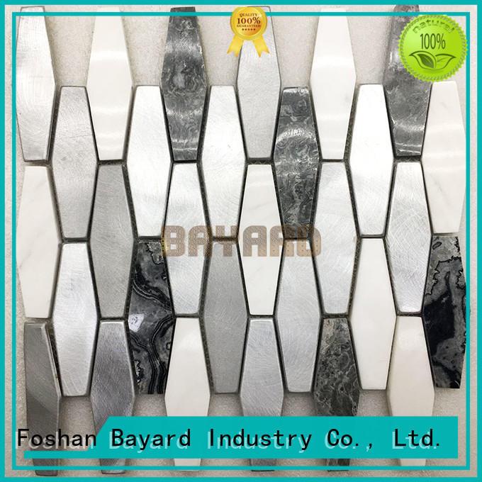 Bayard shape mosaic tile supplies newly for foundation