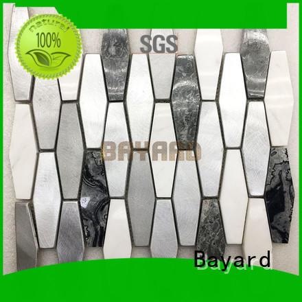 Bayard many mosaic border tiles for wholesale for bathroom