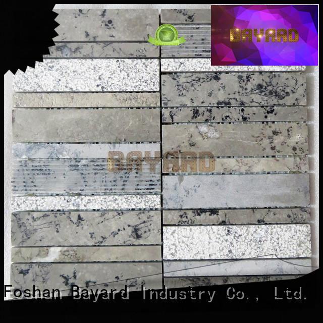 Bayard new arrival mosaic bathroom floor tile for wholesale for TV wall