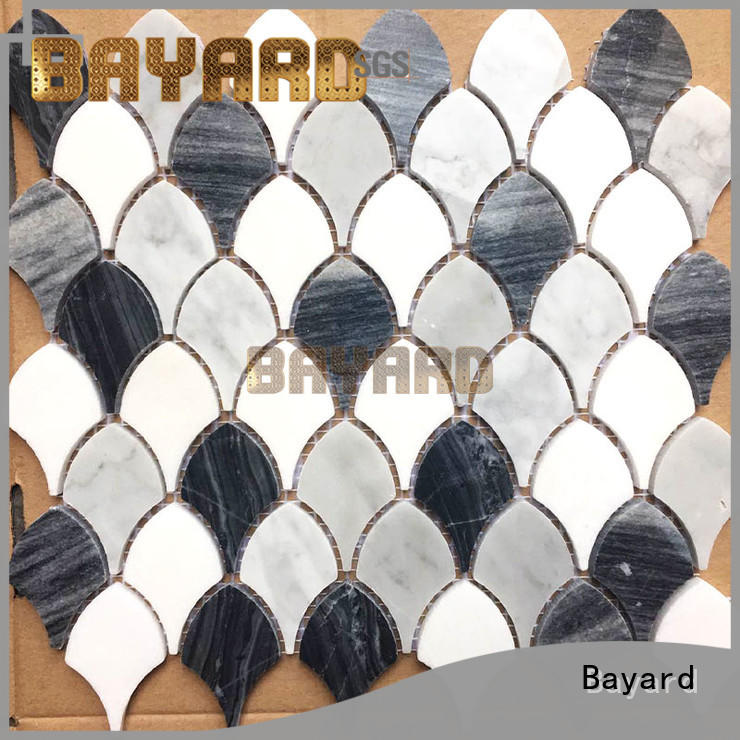 Bayard circle round mosaic tiles vendor for bathroom
