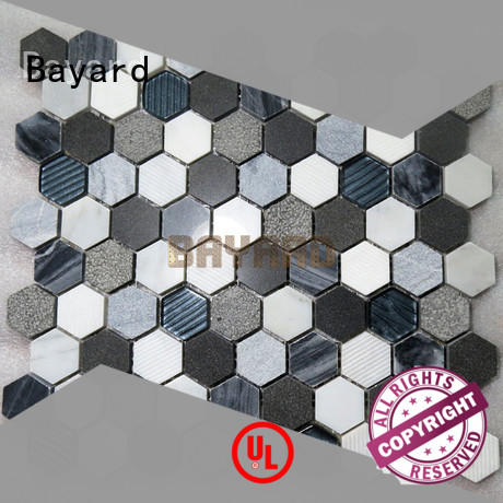 Bayard blue mosaic wall tiles antislip for bathroom