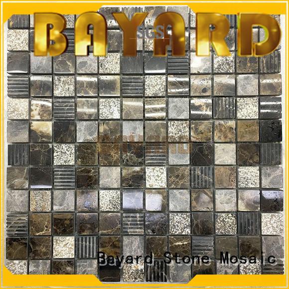 high standards mosaic bathroom floor tile natural in china for supermarket