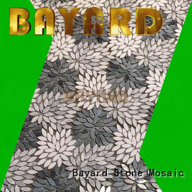 Bayard umbrellatypeshelltype mosaic tile splashback factory for wall decoration