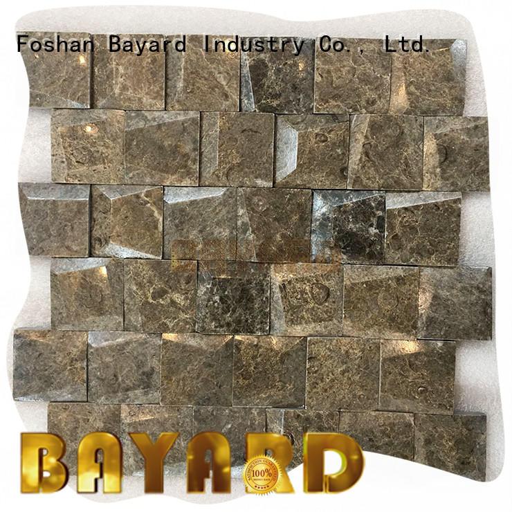 Bayard stone mosaic wall newly for bathroom