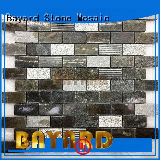 elegant mosaic backsplash crema dropshipping for supermarket