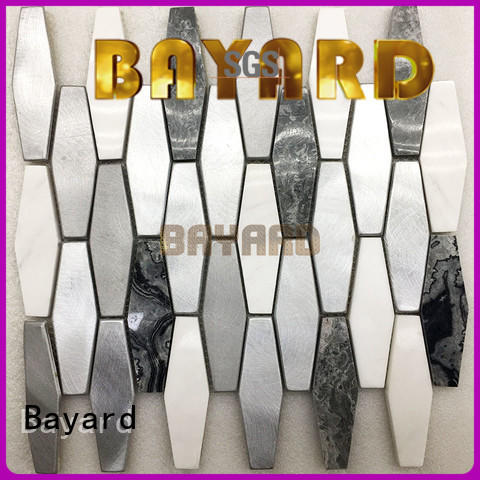Bayard many grey mosaic floor tiles factory price for foundation