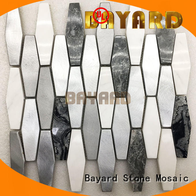 light round mosaic tiles many Bayard