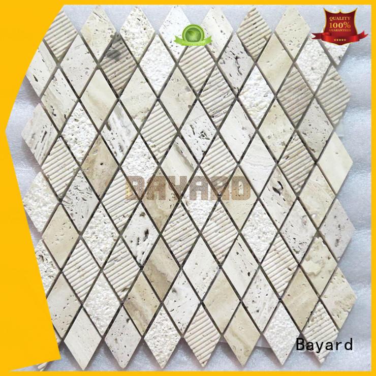 Bayard tiles travertine mosaic floor tile in china for bathroom