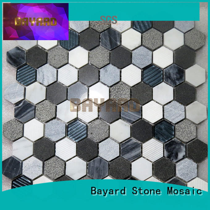 Bayard mosaics square mosaic tiles newly for TV wall