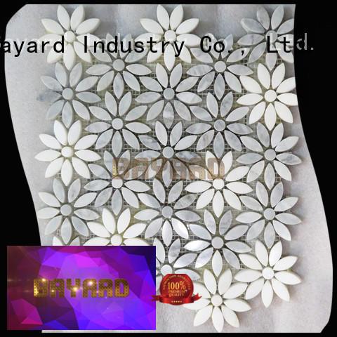 Bayard high-end gray mosaic tile vendor