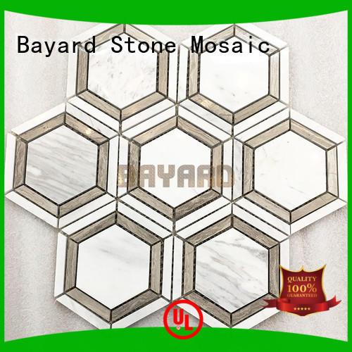Bayard high reputation dark grey mosaic tiles overseas market for wall decoration