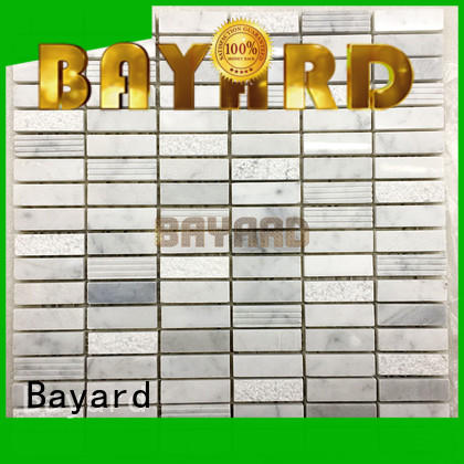 natural cheap mosaic tiles beige factory price for hotel