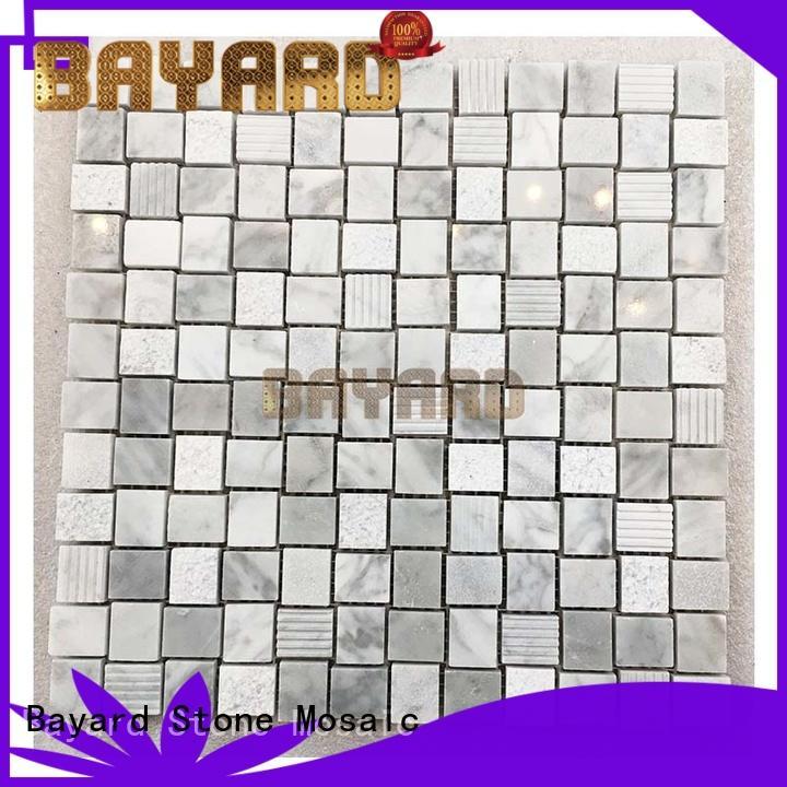 new arrival mosaic bathroom floor tile marquina for TV wall