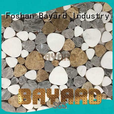 Bayard stone mosaic bathroom wall tiles for wholesale for bathroom