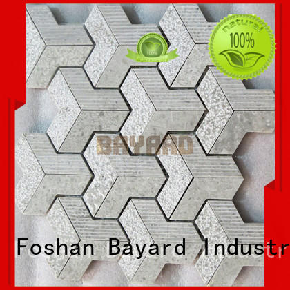 glossy mosaic tile supplies marble supplier for hotel lobby