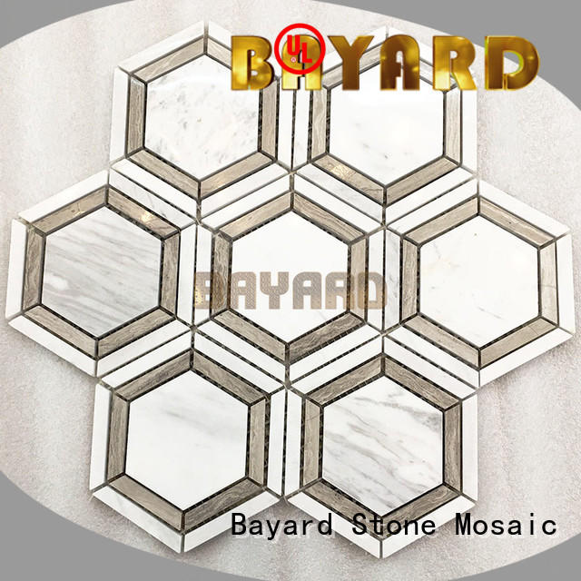 Bayard upscale glass mosaic wall tiles grab now for hotel lobby