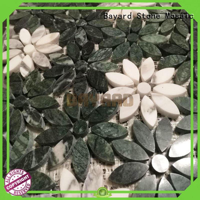 Bayard fashion design natural stone mosaic floor tile dropshipping for hotel lobby