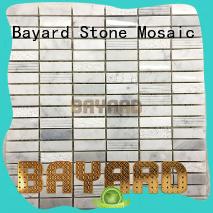 elegant mosaic flooring tile factory price for TV wall