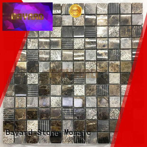 high standards mosaic flooring mix for hotel