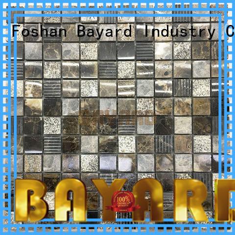 marquina natural stone mosaic wall tile newly for bathroom Bayard